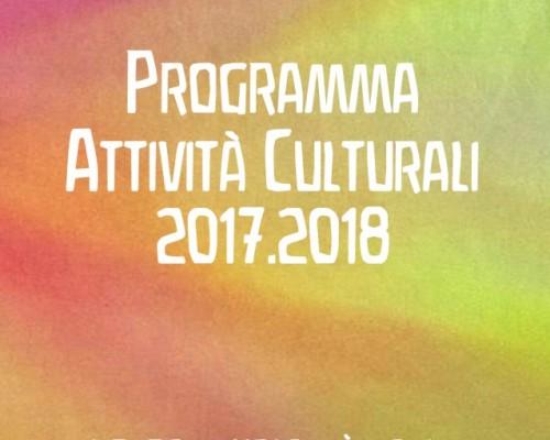 programma culturale 2017/18
